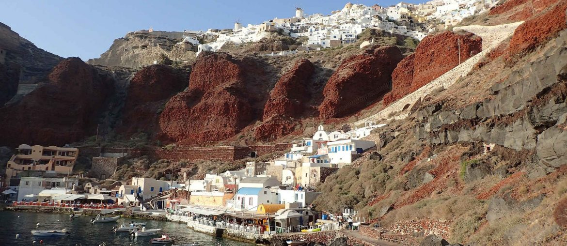 On the island of Santorini you will find the Akrotiri Excavations.