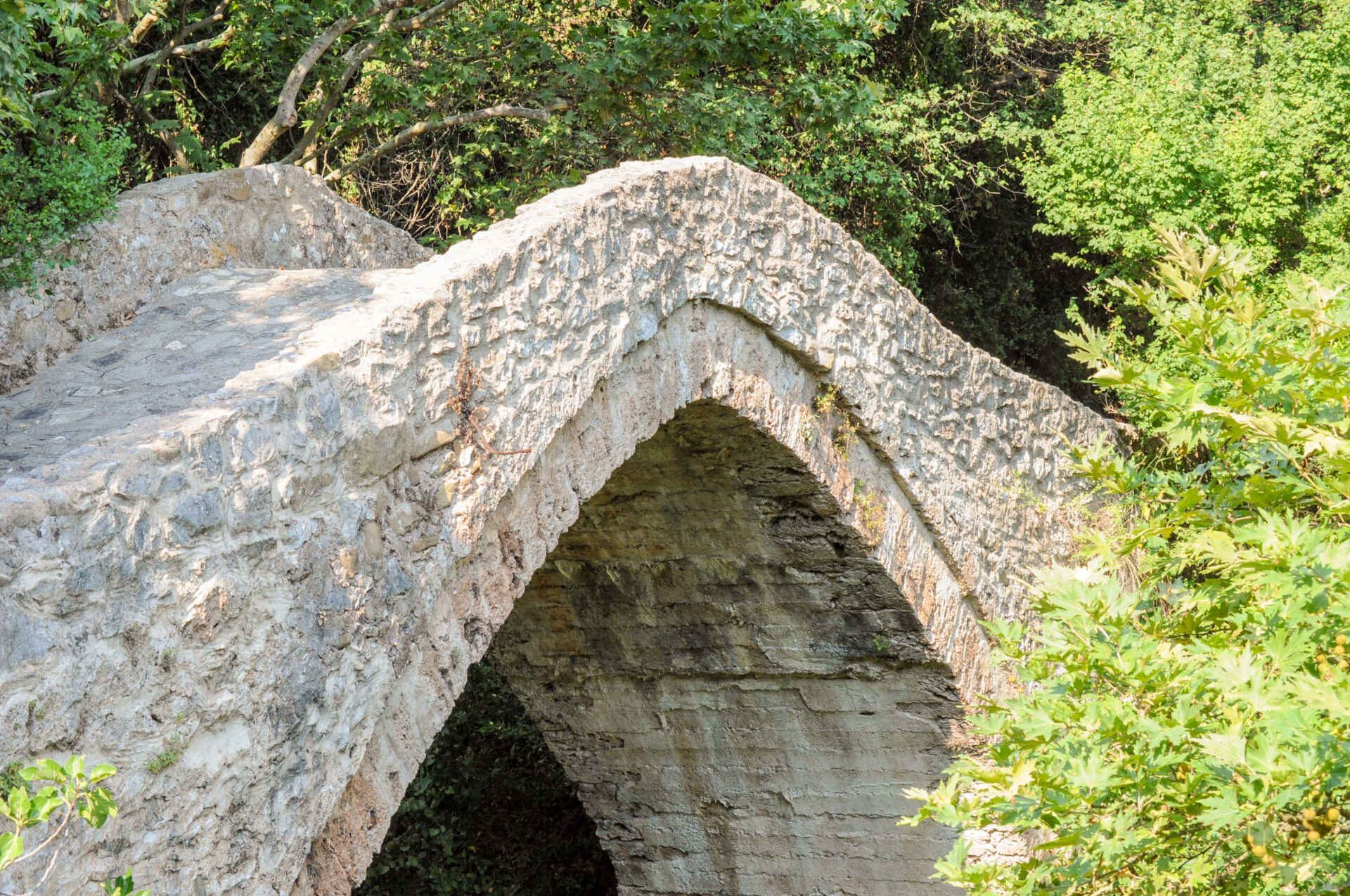 Bridge close to Karytaina in Arcadia, Peloponnese.
