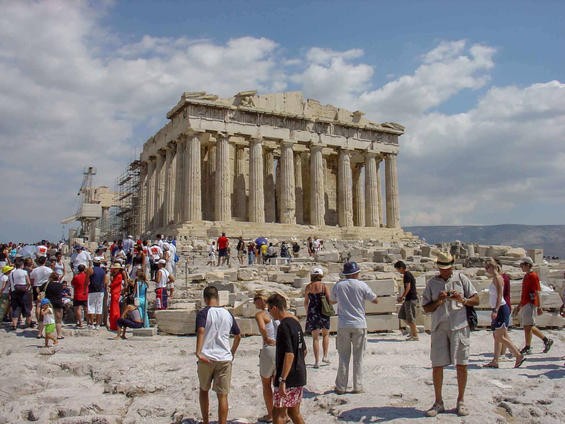 Take an Acropolis guided tour with your kids to see the impressive Parthenon.