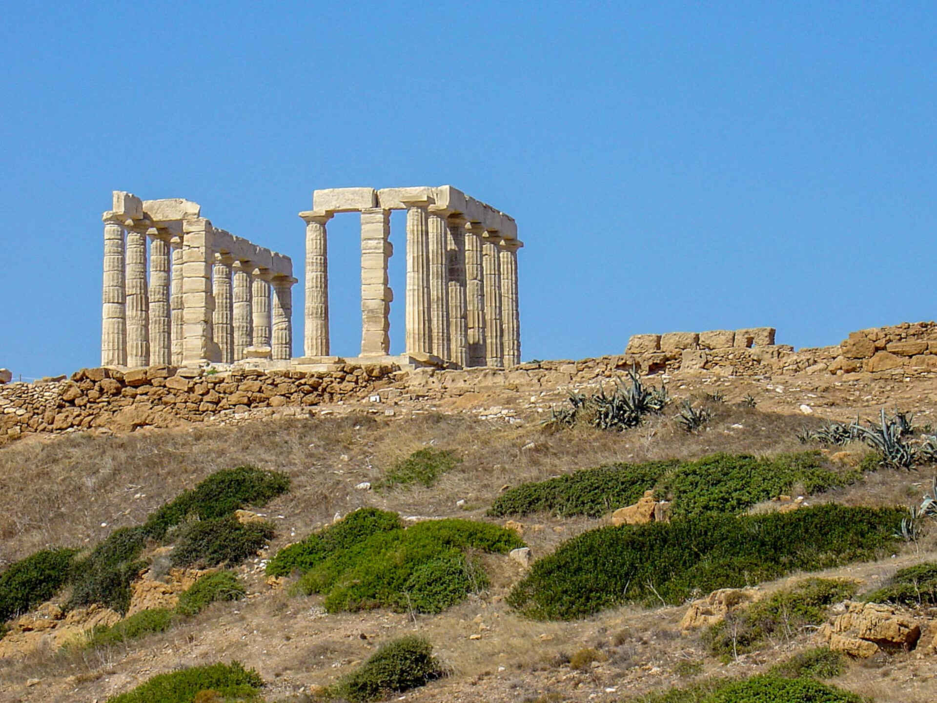 Sounion Tour from Athens to the Temple of Poseidon.