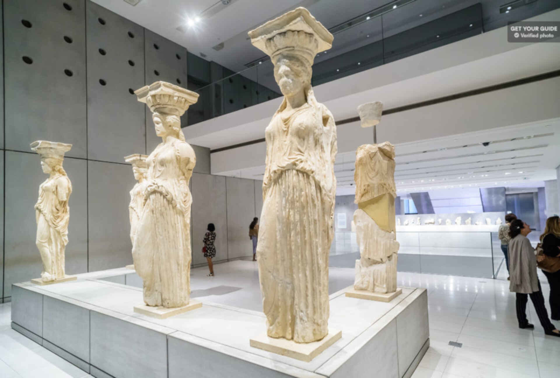 Best museums in Athens. The Acropolis Museum.