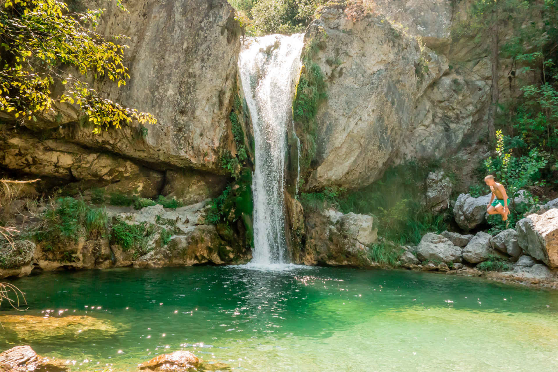 One of the waterfalls in the Orlias Canyon is called Orpheus.