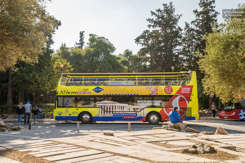 Athens sightseeing bus